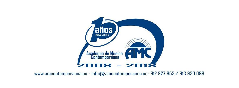 logo 10 años AMC